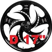 """Диаметр диска (D)17"""""""