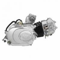 двигатель в сборе 4Т мопед 70-110 куб.см.