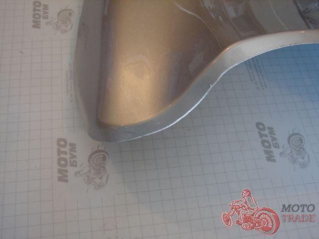 Клюв Honda Dio AF34/35 (серебристый металлик) Уценка.