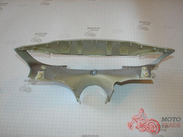 Голова, пластик руля Yamaha Jog SA16J(серебристый металлик).