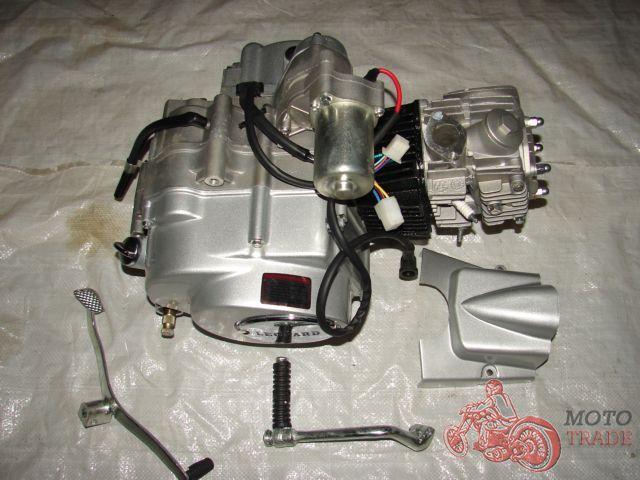 двигатель 4Т мопед Альфа, Актив 110 куб.см.
