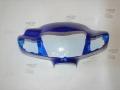 Голова, пластик фары Suzuki Lets 2 NEW (синий)