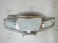Голова, пластик фары Suzuki Lets 2 NEW (серебристый металлик)