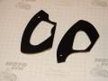Боковые вставки пластика руля Viper Storm NEW, Fada FD 12-15 (черные)