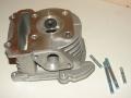 Головка цилиндра с клапанами 4Т скутер 65 куб.см. SEE